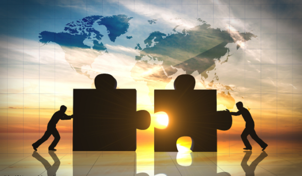 puzzle pieces represent merger and acquisition by bas121 Adobestock