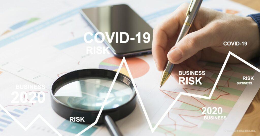 business man calculation risks
