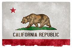 California Grundge State Flag