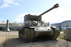 Picture Of An Antique Tank